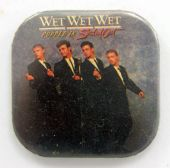 Wet Wet Wet - 'Popped in Souled out' Square Badge